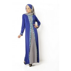 Azkasyah Gamis Azzalfa Electric Blue