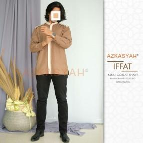 Koko Azkasyah KSK 51 Iffat Coklat
