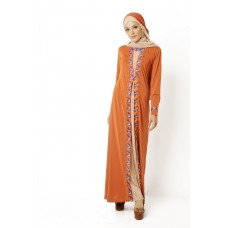Azkasyah Gamis Azzalfa Safety Orange