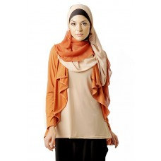 Azkasyah Blus Azzalfa Safety Orange