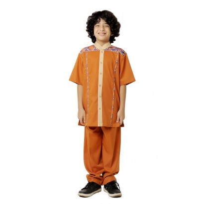 Azkasyah Koko Anak Safety Orange