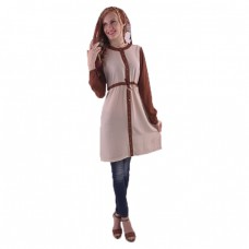 Azkasyah Daily Blouse Cream Brown