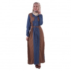 Azkasyah Daily Gamis Light Navy