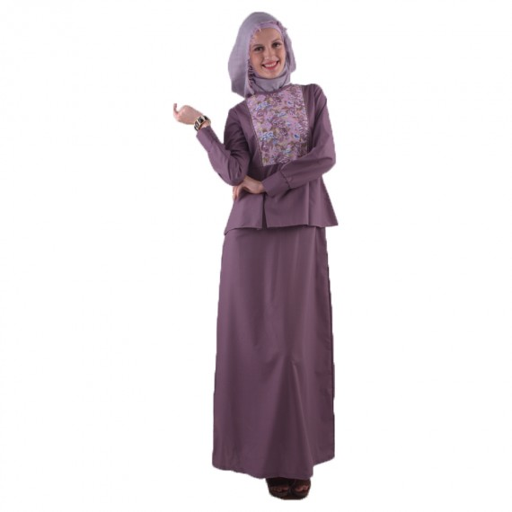 Azkasyah Daily Gamis Grape