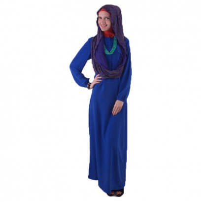 Azkasyah Daily Gamis Electric Blue