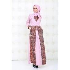 Azkasyah Daily Gamis Pink
