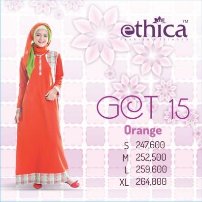 Ethica GCT 15 Orange