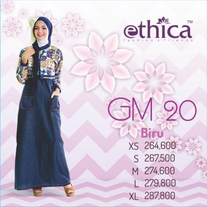 Ethica Gamis GM 20 Biru