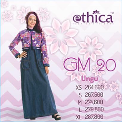 Ethica Gamis GM 20 Ungu
