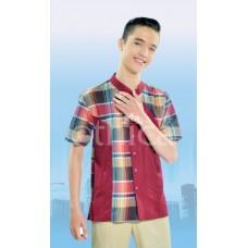 Baju Koko Remaja Ethica KR 19 Merah