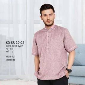 Baju Koko Keke KD SR 20 02 Pink