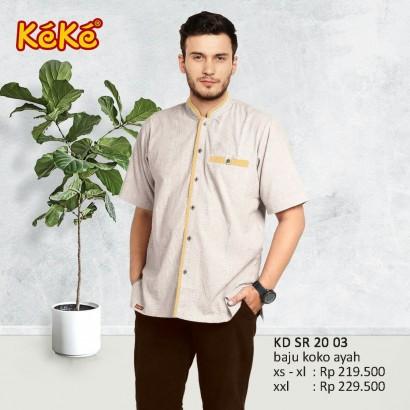 Baju Koko Keke KD SR 20 03 Kuning