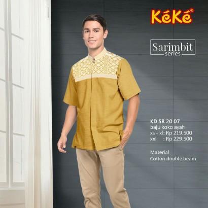 Baju Koko Keke KD SR 20 07 Gold
