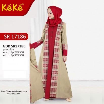 Gamis Keke GDK 17186 Broken White