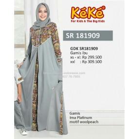 Gamis Keke GDK SR 181909 Abu