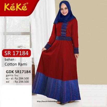 Gamis Keke GDK SR17184 Merah