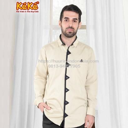 Baju Muslim Koko Keke KDP SR 181904 Coklat