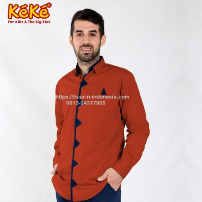 Baju Muslim Koko Keke KDP SR 181904 Merah