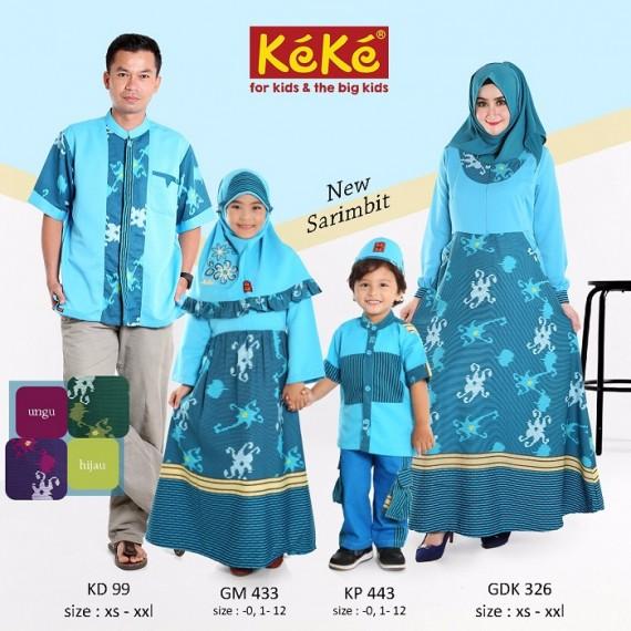 Koko Anak Keke KP443 Biru