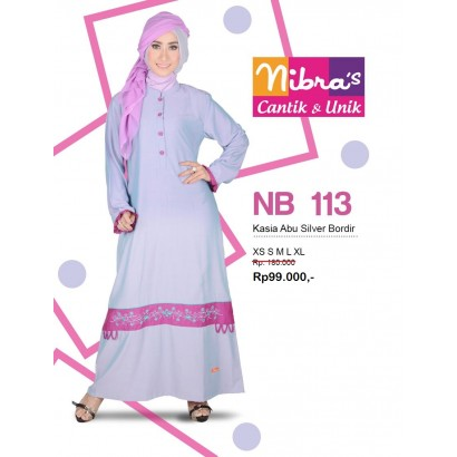 Nibras Gamis NB113