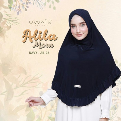 Alila Bergo Mom by Uwais Hijab - Navy