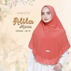 Hijab Instan Alila Bergo Mom by Uwais Hijab - Dark Orange