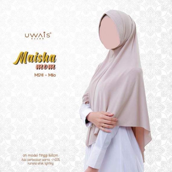 Jilbab Instan Maisha Bergo By Uwais Hijab-Milo-MS41