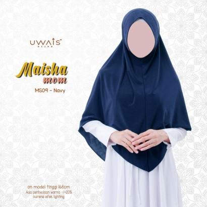 Kerudung Instan Maisha Bergo By Uwais Hijab-Navy