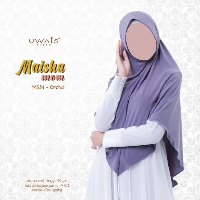 Kerudung Instan Maisha Bergo By Uwais Hijab-Orchid