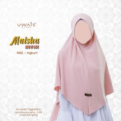 Jilbab Instan Maisha Bergo By Uwais Hijab-Yoghurt