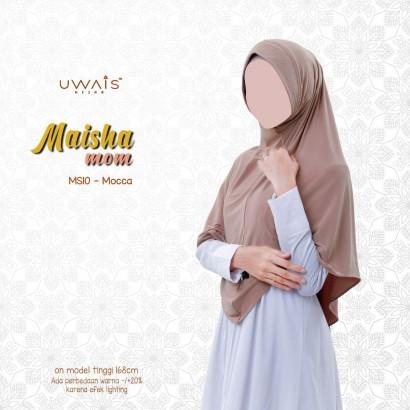 Kerudung Instan Maisha Bergo By Uwais Hijab-Mocca