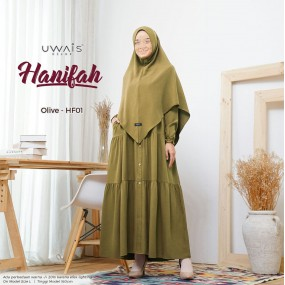 Gamis Uwais Hanifah Dress Olive