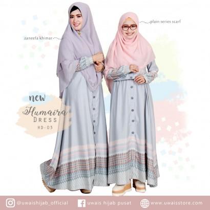 Uwais New Humaira Dress Abu