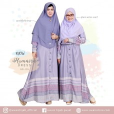 Uwais New Humaira Dress Lavender