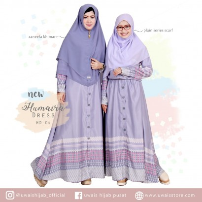 Uwais New Humaira Dress Lavender