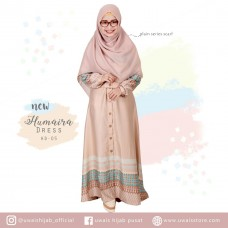 Uwais New Humaira Dress Mocca