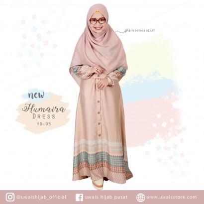 Uwais New Humaira Dress Mocca