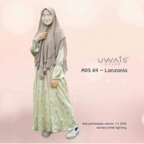 Gamis Mulan Dress by Uwais Hijab - Lanzania