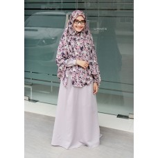 Zifa Dress ZD11 Abu Muda by Uwais Hijab