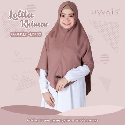 Jilbab Instan Lolita Khimar Caramello by Uwais Hijab