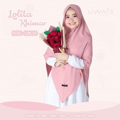 Jilbab Instan Lolita Khimar Rose by Uwais Hijab