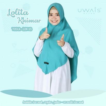 Jilbab Instan Lolita Khimar Tosca by Uwais Hijab