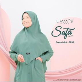 Uwais Safa Khimar Green Mint
