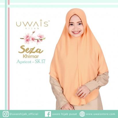 Uwais Seza Khimar Apricot