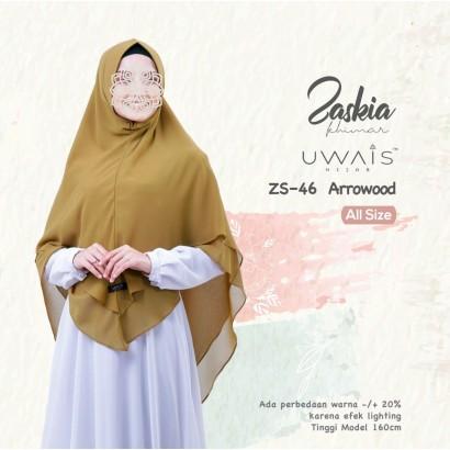Kerudung Instan Zaskia Khimar by Uwais Hijab Arrowood