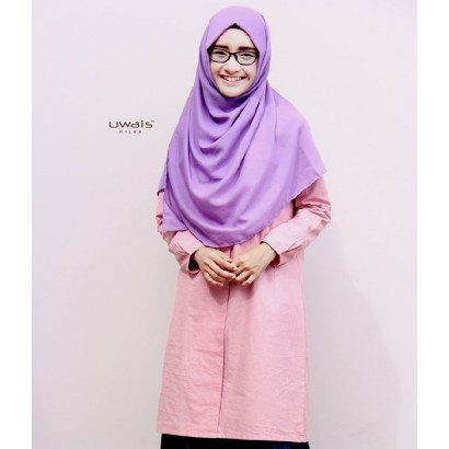 Tunik Uwais Yemima Dusty Pink
